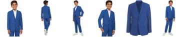 Calvin Klein Big Boys Solid Textured Weave Suit Jacket