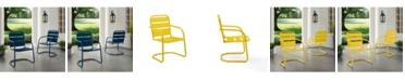 Crosley Brighton Metal Chair Set Of 2