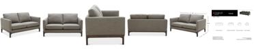 """Furniture Yazlan 62"""" Fabric Loveseat"""