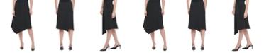 Calvin Klein Asymmetrical Wrap Skirt