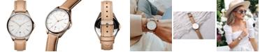 MVMT Women's Coronada-Malibu Fade Prosecco Leather Strap Watch 36mm