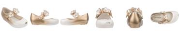 Mini Melissa Toddler and Little Girls Ultrirl Flower Flat Shoe