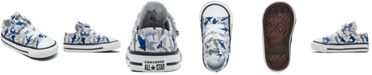 Converse Toddler Boys Shark Bite Chuck Taylor All Star Stay-Put Closure Casual Sneakers from Finish Line