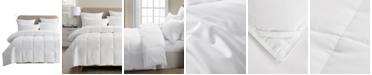 UNIKOME Lightweight White Goose Down & Feather Comforter, Twin Size