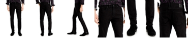 INC International Concepts INC Men's Black Wash Skinny Jeans, Created for Macy's