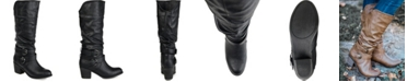 Journee Collection Women's Wide Calf Late Boot