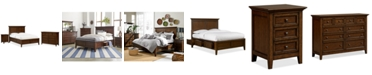 Furniture Matteo Storage Platform Bedroom 3 Piece Bedroom Set, Created for Macy's,  (California King Bed, Dresser and Nightstand)
