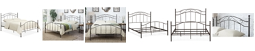 Pulaski Karre Scroll Metal Queen Bed