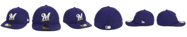 New Era Milwaukee Brewers Low Profile AC Performance 59FIFTY Cap