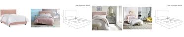 Skyline Layla California King Pleated Bed