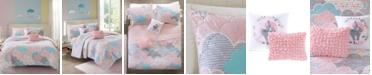 Urban Habitat Cloud 5-Pc. Cotton Printed Full/Queen Coverlet Set