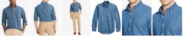 Polo Ralph Lauren Men's Classic-Fit Denim Shirt