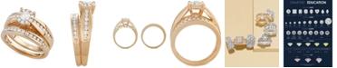 Macy's Diamond Ring Set in 14k Gold (1-1/3 ct. t.w.)