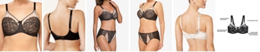 Wacoal Retro Chic Full-Figure Underwire Bra 855186, Up To I Cup