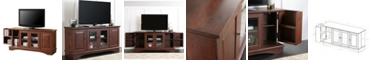 "Walker Edison 52"" Wood TV Media Stand Storage Console"