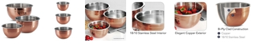 Tramontina Limited Editions Copper Clad 3 Pack Mixing Bowls