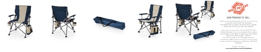 Picnic Time Oniva™ by Navy Outlander Folding Camp Chair with Cooler