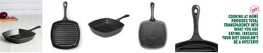 """Goodful 10"""" Cast Iron Grill Pan, Created for Macy's"""