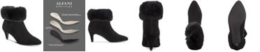 Alfani Women's Hansonn Step 'N Flex Booties, Created for Macy's