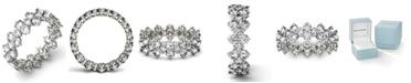 Charles & Colvard Moissanite Round Cluster Ring (3-5/8 ct. t.w. Diamond Equivalent) in 14k White Gold