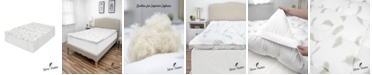 SensorPEDIC  Quilted Memory Foam and Micro Feather Mattress Topper Collection