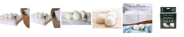 Laura Ashley 4 Pack Wool Dryer Balls and Lavender Essential Oil Kit