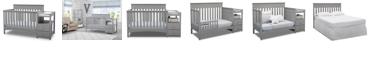 Delta Children Presley Convertible Crib and Changer, Quick Ship