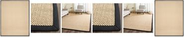 Safavieh Natural Fiber Maize and Black 8' x 10' Sisal Weave Area Rug