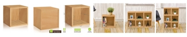 Way Basics Eco Stackable Storage Cube and Cubby Organizer