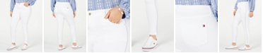 Tommy Hilfiger Plus Size Bedford Side-Stripe Skinny Jeans, Created for Macy's