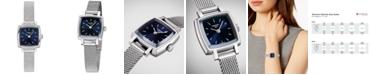 Tissot Women's Swiss T-Lady Lovely Stainless Steel Mesh Bracelet Watch 20mm