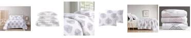 Cottage Classics Embroidered Ogee 2 Piece Twin XL Quilt Set