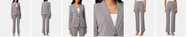 Tahari ASL Single-Button Pants Suit