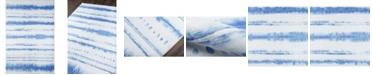 "Novogratz Collection Novogratz District Dis-8 Blue 7'6"" x 9'6"" Area Rug"