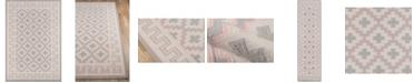 "Erin Gates Thompson Tho-4 Brookline Pink 2'3"" x 8' Runner Area Rug"