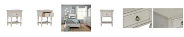 Furniture Sarah Youth Single Drawer Nightstand