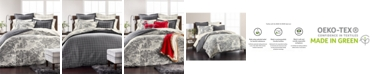 Martha Stewart Collection Fox Toile Flannel Bedding Collection, Created for Macy's
