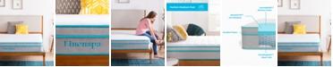 "Linenspa Linenspa Signature 10"" Alwayscool Memory Foam Hybrid Mattress Collection"