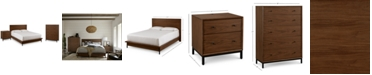 Furniture Oslo Bedroom Furniture, 3-Pc. Set (California King Bed, Nightstand & 5 Drawer Chest), Created for Macy's