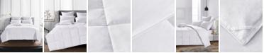 UNIKOME 600 Fill Power Lightweight 75% White Down Comforter, Size- Twin