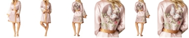 Honey Minx Butterfly Kimono Wrap Robe, Online Only