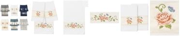 Linum Home 100% Turkish Cotton Rebecca 3-Pc. Embellished Bath and Hand Towel Set