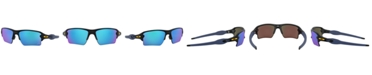Oakley NFL Collection Sunglasses, Los Angeles Chargers OO9188 59 FLAK 2.0 XL