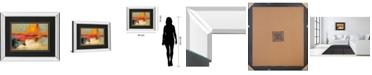 """Classy Art Acertijo by Santos Villareal Mirror Framed Print Wall Art, 34"""" x 40"""""""