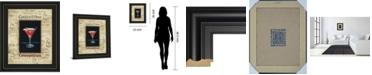 "Classy Art Cosmopolitan by Gregory Gorham Framed Print Wall Art, 22"" x 26"""