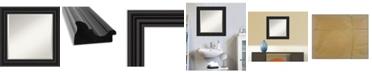 """Amanti Art Colonial Framed Bathroom Vanity Wall Mirror, 25.75"""" x 25.75"""""""