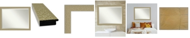 "Amanti Art Mosaic Gold-tone Framed Bathroom Vanity Wall Mirror, 44.25"" x 34.25"""