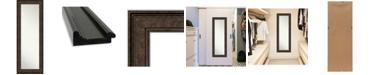 "Amanti Art Ridge on The Door Full Length Mirror, 19.5"" x 53.50"""