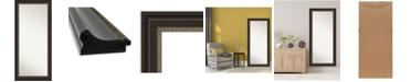 """Amanti Art Impact Framed Floor/Leaner Full Length Mirror, 30.25"""" x 66.25"""""""