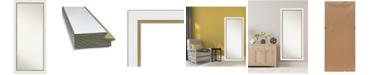 """Amanti Art Eva Gold-tone Framed Floor/Leaner Full Length Mirror, 29.25"""" x 65.25"""""""
